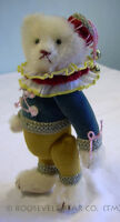 ROOSEVELT TEDDY BEAR CO = ARTIST CATHY PETERSON = OOAK = Jester Bellhop MOHAIR
