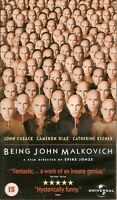 BEING JOHN MALKOVICH - VHS VIDEO