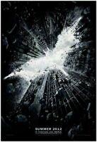 DARK KNIGHT RISES- original D/S Advance MOVIE POSTER 27x40 -2012 - BALE, FREEMAN