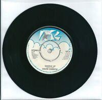 "DAVID CHRISTIE - SADDLE UP - 7"" VINYL 1982 KR RECORDS"