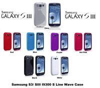 NEW S LINE GRIP SERIES TPU SILICONE GEL CASE COVER SAMSUNG GALAXY S3 SIII i9300
