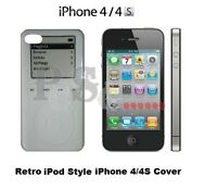 CLASSIC RETRO IPOD 3rd GEN STYLE COVER for iPHONE 4 4S 4G Hard Case Protector