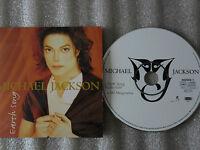 CD-MICHAEL JACKSON-EARTH SONG-MJ MEGAREMIX-MIJAC MUSIC-(CD SINGLE)-1995- 2 TRACK