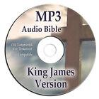 Authorized King James Version KJV Holy Bible-MP3 Audio-Audiobook-66 Books-on CD