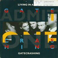 "LIVING IN A BOX - GATECRASHING - 7"" VINYL PICTURE SLEEVE 1989 CHRYSALIS"