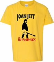 """Joan Jett & The Runaways"""" T-Shirt - Punk, Rock, Glam, New Wave All Sizes/Colours"""