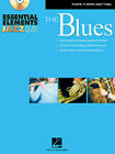ESSENTIAL ELEMENTS JAZZ PLAY-ALONG-THE BLUES (FLUTE, F HORN AND TUBA) BOOK/CD
