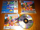PLAY STATION PSX PS1 WORMS PLATINUM COMPLETO PAL ESPAÑA