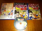 PLAY STATION 2 PS2 DRAGON BALL Z BUDOKAI 2 COMPLETO PAL ESPAÑA