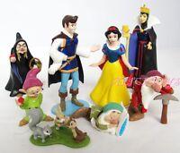 Disney Princess Snow White Figurine Figure set of 8pcs UK