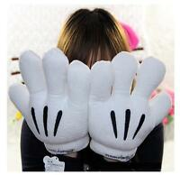 New Men Women Adult Disney Mickey Minnie Mouse Costume Cosplay Plush Warm Gloves
