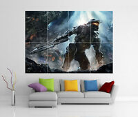 HALO 4 MASTER CHIEF XBOX 360 REACH 3 2 GIANT WALL ART PICTURE PRINT POSTER G65