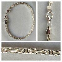 Königskette Armband Silberarmband 925er Silber