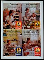 Vintage 1975 Sun-Maid Raisins Magazine Ad