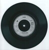 "BLACK - SWEETEST SMILE - 7"" VINYL 1987 A&M"
