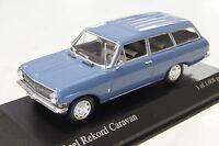 Opel Rekord A Caravan blau 1962 1:43  Minichamps neu & OVP