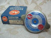 NOS AC DELCO FORD Zodiac MG ZA MGA JAGUAR XK140 TRIUMPH TR2 TR3 RC4 RADIATOR CAP
