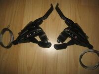 Shimano EZ fire 8 & 3, 24 speed bike cycle brake lever & gear shifters ST-EF65-8