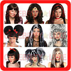 New Ladies Fancy Dress Party Costume Wig Long Short Wavy Straight Beehive 70's