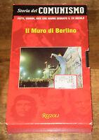 STORIA DEL COMUNISMO IL MURO DI BERLINO VHS  RIZZOLI Audiovisivi 1999