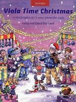 Viola Time Christmas (Viola Solo), Kathy and David Blackwell OUP335568