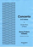 Concerto in G minor (Handel - Orchestral Tuning) (Double Bass & Piano) RM171