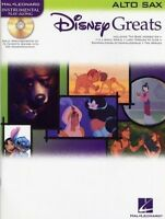 Disney Greats - Alto Saxophone Solo (with backing CD) HL00841936