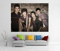 UNION J X FACTOR GIANT WALL ART  PRINT POSTER H55