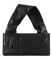 NWT MAISON MARTIN MARGIELA MMM for H&M Leather Glove Clutch Bag Purse Black