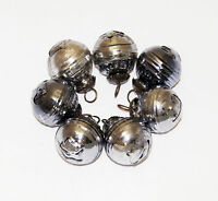 Antique-look Glass Ornament Set /7 for Vintage Finish Christmas Tree Decorations