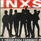 45T: INXS: need you tonight. mercury