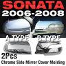Chrome Mirror Cover Garnish Molding A794/A796 For HYUNDAI 2006-2010 SONATA NF