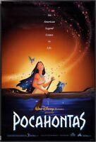 DISNEY'S POCAHONTAS - 18x27 Original Promo Movie Poster RARE