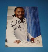 TONY MARSHALL GENUINE SIGNED AUTOGRAPH 6x4 CAST CARD CASUALTY NOEL GARCIA + COA