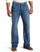 $178 Men's Seven 7 For All Mankind Relaxed Straight Leg Cotton Denim Jeans 30 31