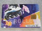 TELECARTE 50-FRANCE TELECOM-1999-ROLLER-COLLECTION STREET CULTURE-SPORT-SKATE-//