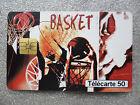 TELECARTE 50-FRANCE TELECOM-2000-BASKET-COLLECTION STREET CULTURE-SPORT-BALLON-/