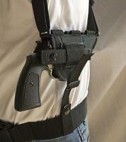 "Taurus Tracker 44 2""   Nylon Horizontal Shoulder Holster w/ Mag Pouch. USA MADE"