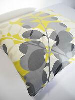 Harlequin SCION Lunaria Vtg/Retro Scandinavian Fabric Cushion Cover Yellow/Grey