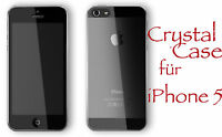 iPhone 5 ULTRA DÜNN Crystal Clear Case Transparent Hülle Cover Kappe Exklusiv