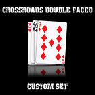 CrossRoads Double Faced set USPCC w/instructions deck playing cards magic trick
