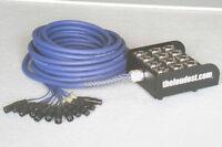 12 Channel 30M XLR Audio Loom (link microphone & mixer)