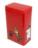 Moomin Characters Coffee Tea Tin Can Red Mamma, Pappa, Troll Martinex
