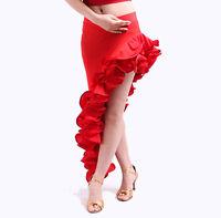 NEW Latin salsa tango Cha cha Ballroom Dance Dress #S8032 skirt