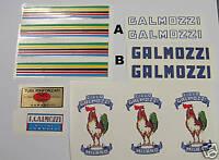 Galmozzi set of decals vintage choices