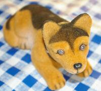 Wackeldackel - Dashboard Dog - Armaturenbrett Figur Schäferhund, Hund 16,5 cm