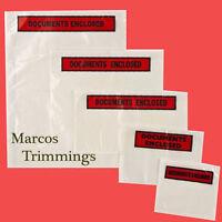 Documents Enclosed Wallets Envelopes