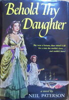 Neil Paterson, Behold thy Daughter, first edition in dust jacket