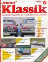 Motor Klassik 6 91 1991 Fiat 850 Coupé Honda S800 Iso Rivolta Kleinwagen Italien