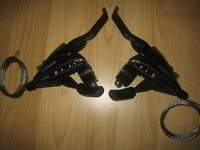 Shimano EZ fire 8 & 3 speed bike cycle  brake lever and gear shifters ST-EF65-8
